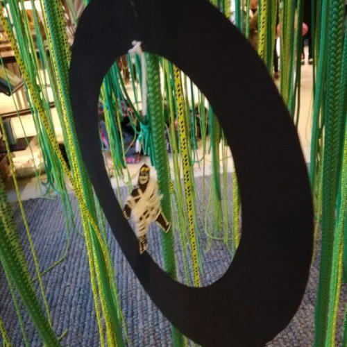 Mumie-uro i grønne reb