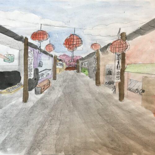 Kinessisk gade