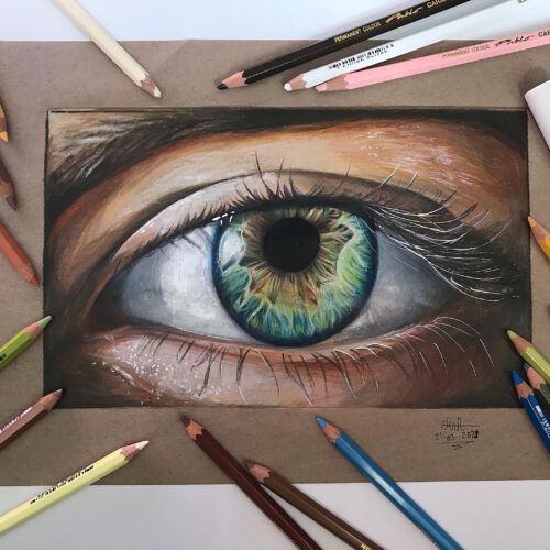 Maria B Tegnehold 2 øje