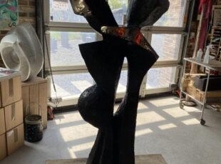 Skulptur Peter uden peter på lille str